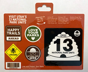 Utah Roadsigns Sticker (includes shipping)