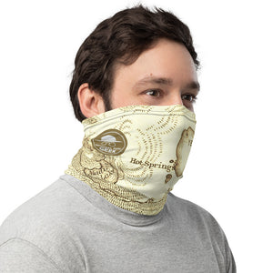 Neck Gaiter - Yellowstone Map