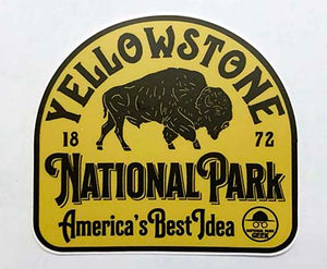 Yellowstone Sticker (includes shipping)
