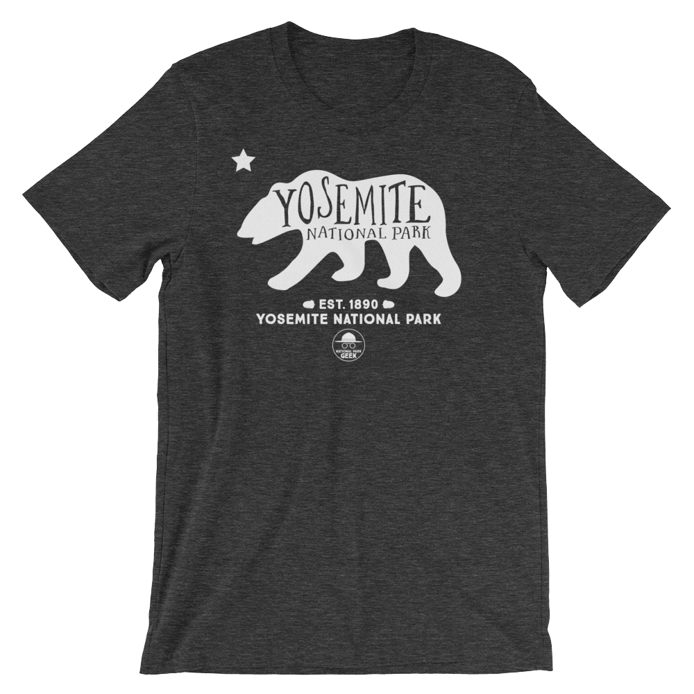 Yosemite National Park Geek T Shirt