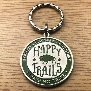 National Park Geek Keychain (includes US shipping)