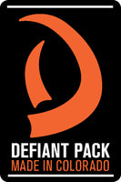 Defiant Pack Made In Colorado LOGO