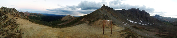Pearl Pass to Crested Butte Panorama