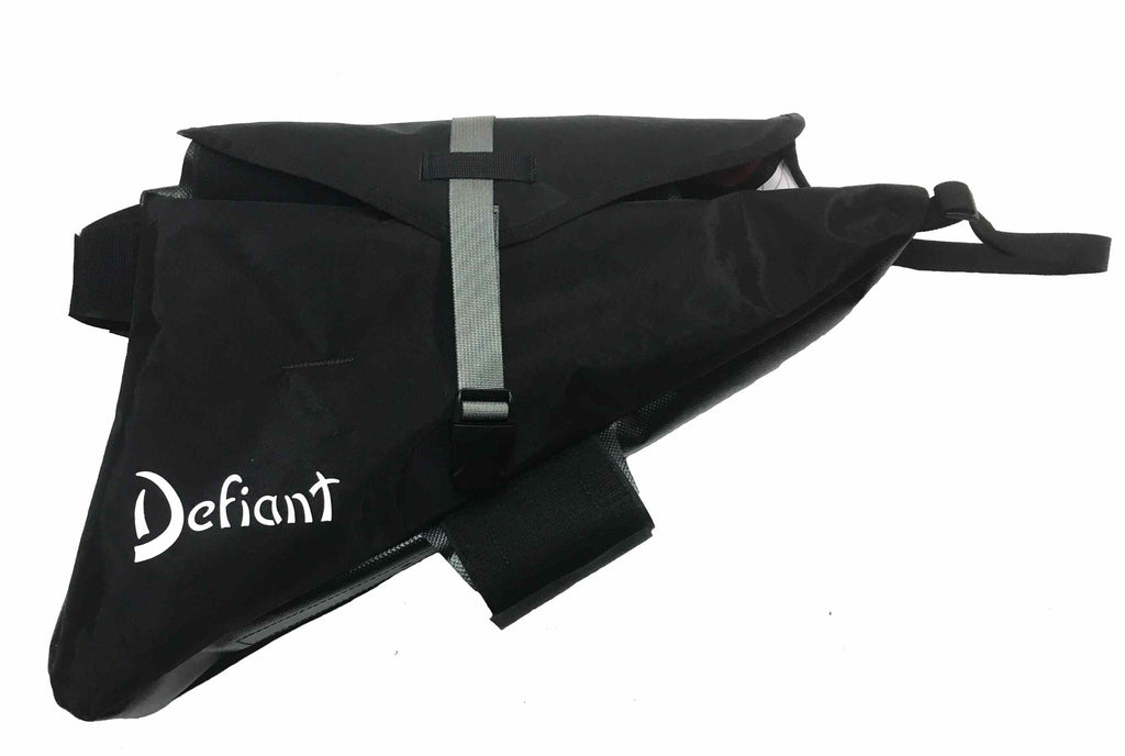 Black Defiant Pack custom frame bag