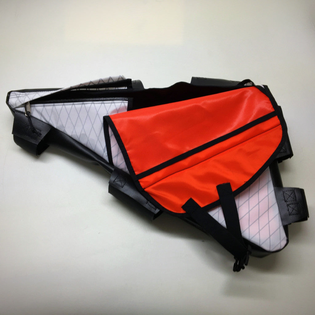 2017 Half Zip Custom Frame Bag