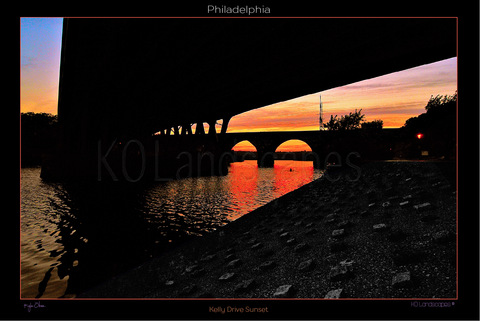 Philadelphia / Kelly Drive Sunset