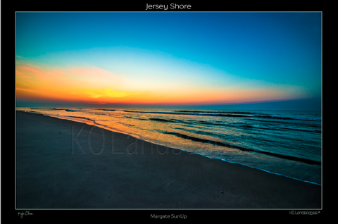 Jersey Shore .. Margate SUNUP, Sunrise, Sunset, Orange, Red, yellow, Blue, Ocean, Water, , Beach, Sand, SHELLS