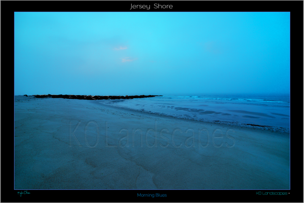 Jersey Shore ..  Morning Blues, night, monotone, jetty, Rocks, Seashells, pebbles, morning, mist, fog, Blue, Ocean, Water, , Beach, Path