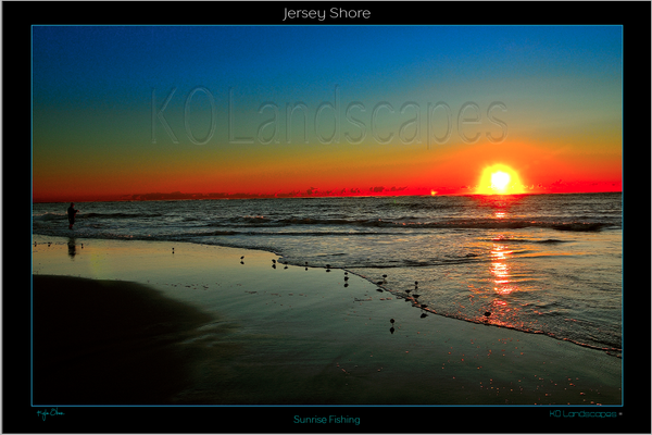 Jersey Shore, Sunrise, Sunset, yellow, Orange, Blue, Fishing, morning, Birds, Ocean, Water, Beach, Rocks, Seashells