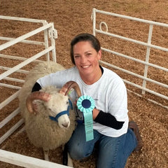 Giles the champion ram lamb.