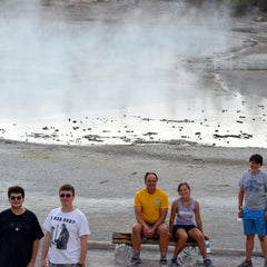 Yellowstone vacation with Intrepid Otter Farm clan.