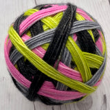 "Stripes!- ""Roller Derby"" - Self-Striping Sock yarn"