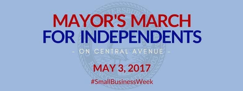 "Mayor's March for ""Independents"""