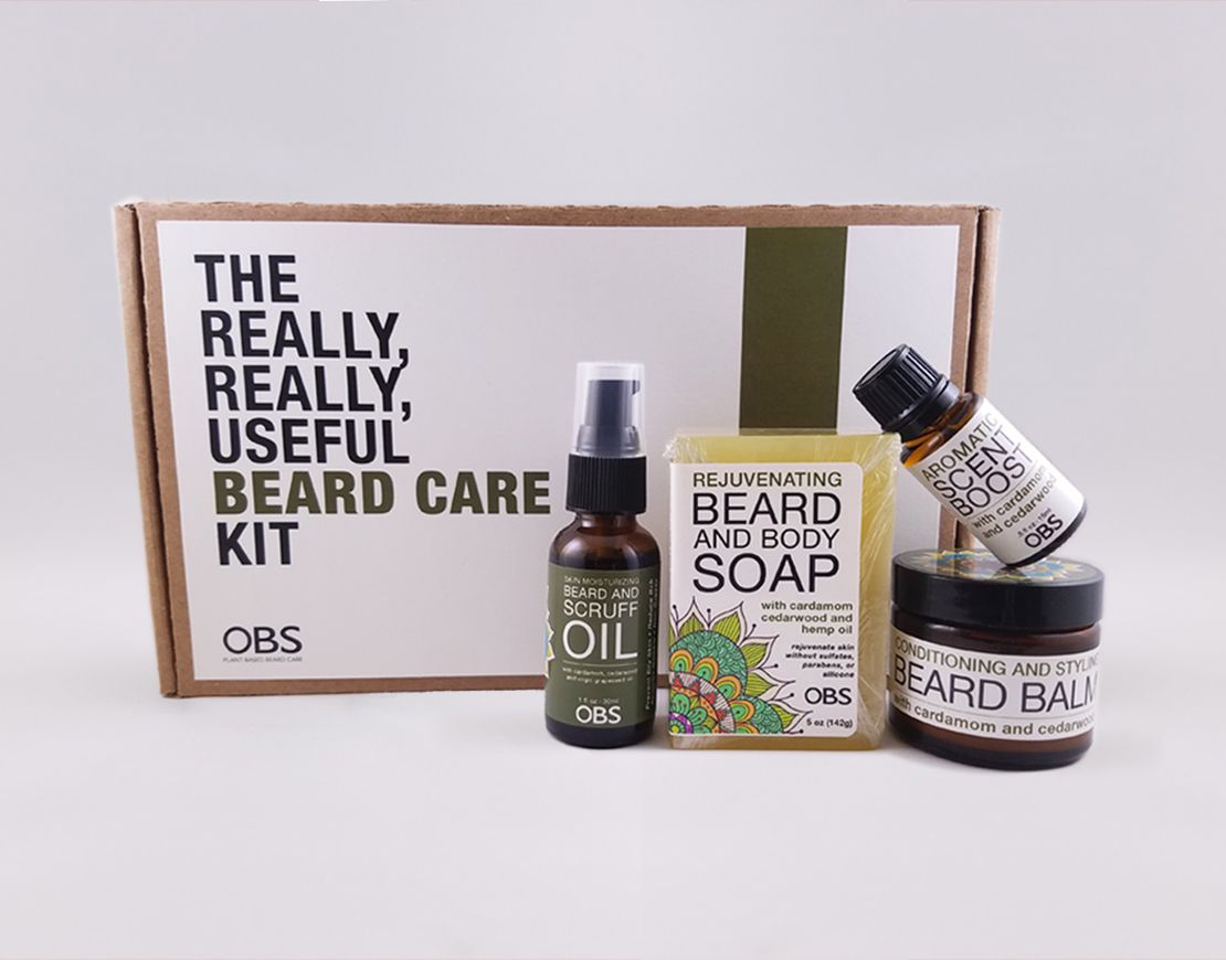 AromaCare™ The Really, Really Useful Beard Care Kit