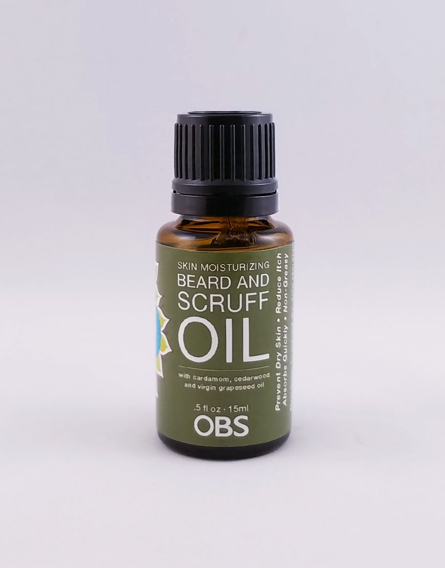 AromaCare™ Cardamom and Cedarwood Beard Oil