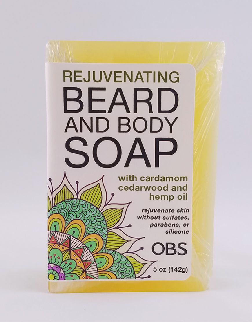 AromaCare™ Cardamom and Cedarwood Beard Soap