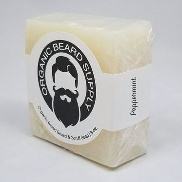 Peppermint Beard, Scruff, and Body Soap