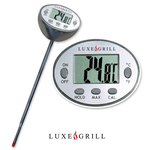 Digital Meat Thermometer - Cooking and BBQ - Instant Read