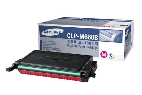 Samsung CLP-610 / CLP-660 / CLX-6210FX Magenta Toner Cartridge - 5,000 pages @ 5% - Out Of Ink