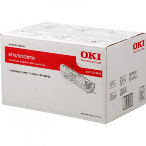 Oki B730 Black Toner Cartridge - Out Of Ink