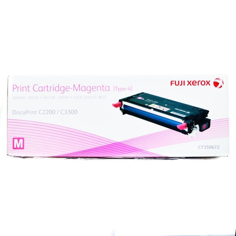 Xerox DocuPrint C2200 Magenta Toner Cartridge - 9,000 pages - Out Of Ink