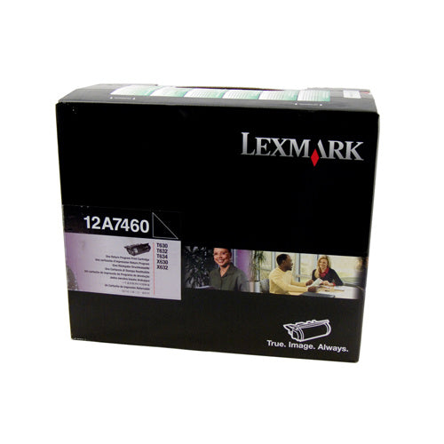 Lexmark C534DN Black Prebate Toner Cartridge High Capacity - 8,000 pages - Out Of Ink