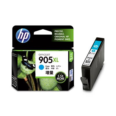 HP #905XL Cyan Ink T6M05AA - Out Of Ink