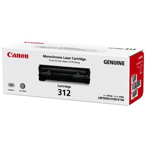 Canon CART-312 Toner Cartridge - 1,500 pages - Out Of Ink