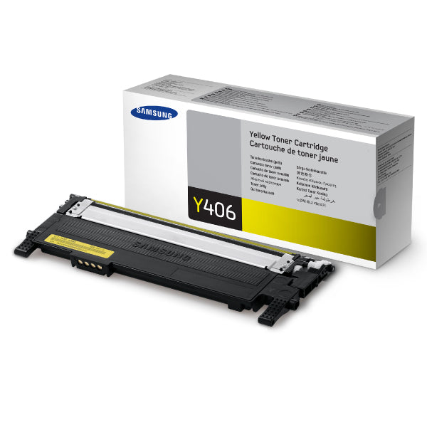 Samsung CLP360 / CLP365 / CLX3300 / CLX3305 Yellow Toner - 1,000 pages - Out Of Ink