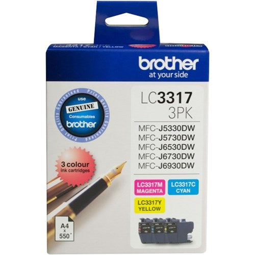 Brother LC3317 Photo Value Pk - Out Of Ink