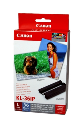 Canon KL-36IP Paper Pack+ Ribb - Out Of Ink