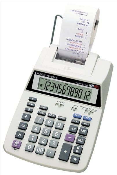 Canon P23DTSC Calculator - Out Of Ink