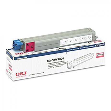 Oki C9600 / C9800 Magenta Toner Cartridge - 15,000 pages - Out Of Ink