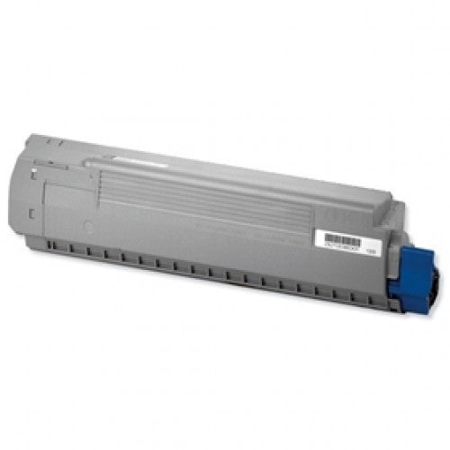 Oki C810 Cyan Toner Cartridge - 8,000 Pages - Out Of Ink
