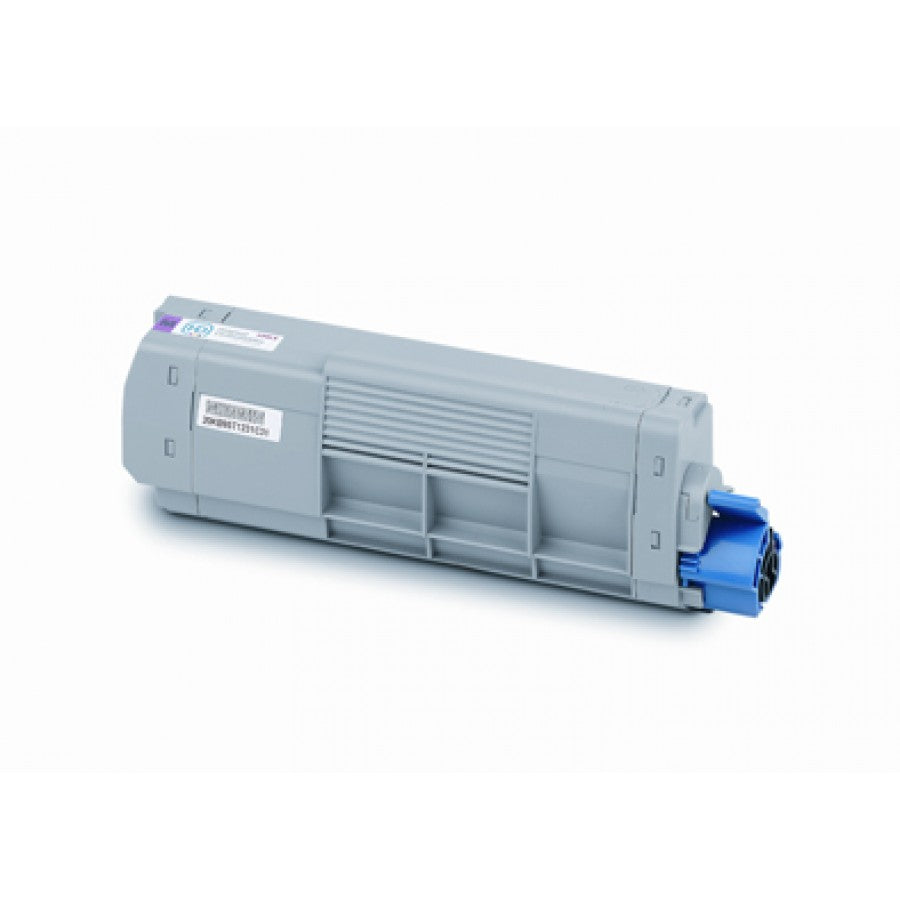 Oki C610 Magenta Toner Cartridge - 6,000 pages - Out Of Ink