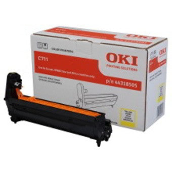 Oki Drum Unit Yellow C711N - Out Of Ink