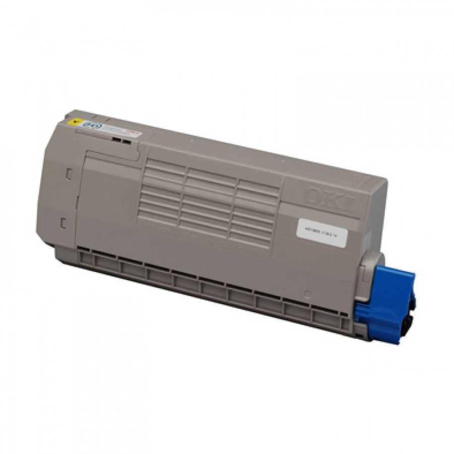 Oki C710N Yellow Toner Cartridge - 11,500 pages - Out Of Ink