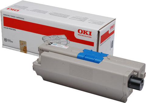Oki C562 Black Toner Cartridge - 7,000 pages - Out Of Ink