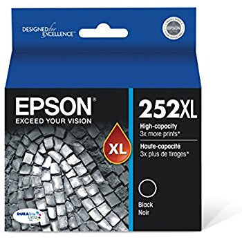 Epson 252 HY Black Ink Cart - Out Of Ink