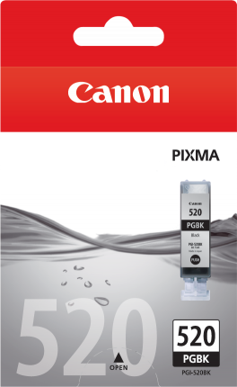 Canon PGI-520BK Black Ink Tank - 350 pages - Out Of Ink