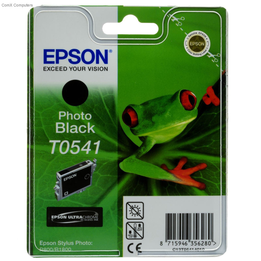 Epson T0541 Photo Black Ink Cartridge - 550 pages - Out Of Ink