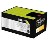 Lexmark 708HY HY Yellow Toner - Out Of Ink