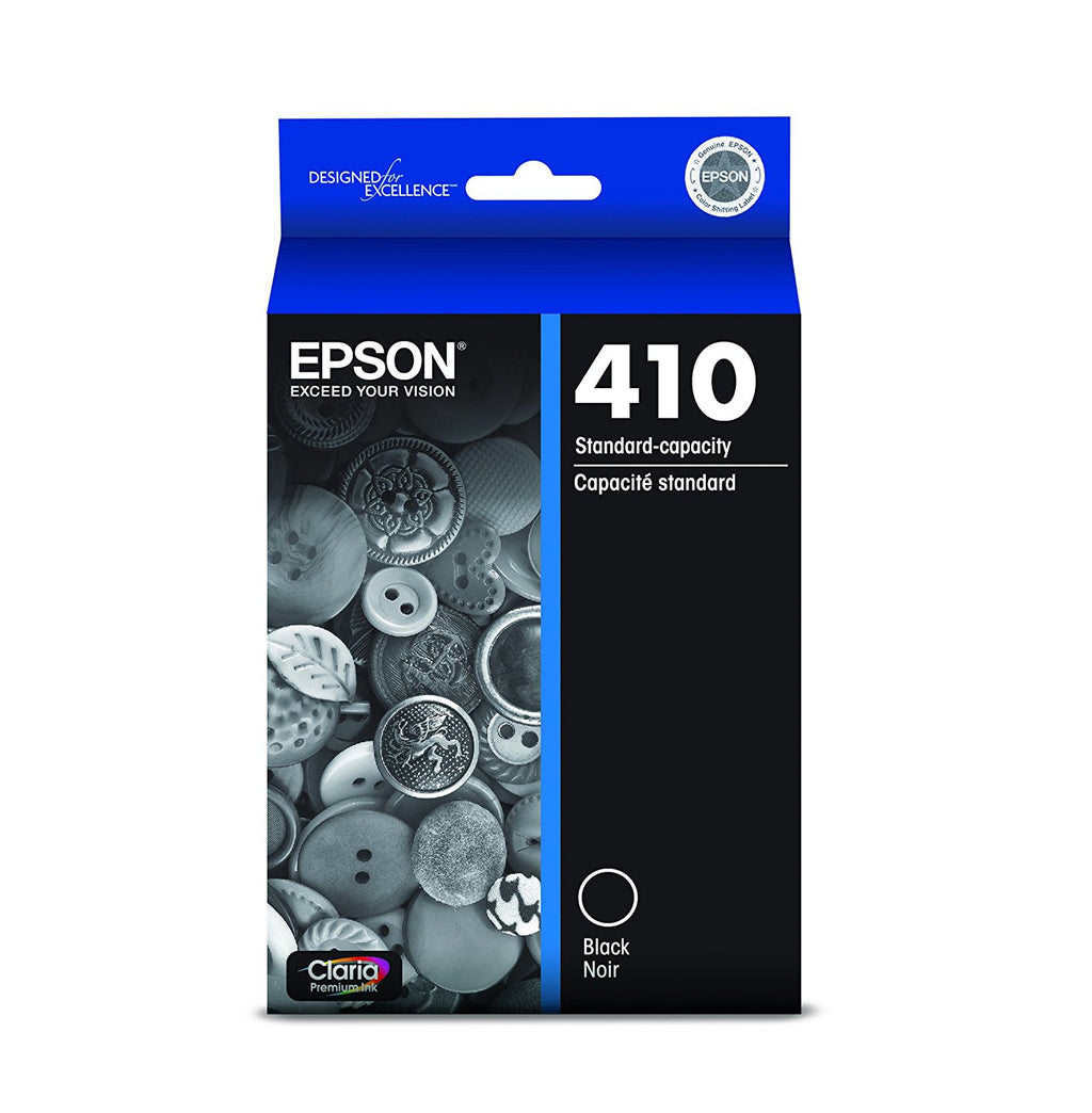 Epson 410 Black Ink Cartridge - Out Of Ink