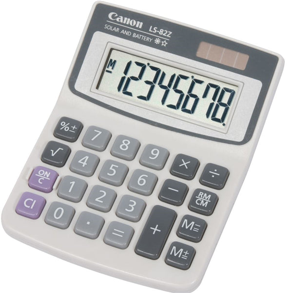 Canon LS82ZBL Calculator - Out Of Ink