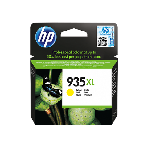HP #935 Yellow XL Ink C2P26AA - Out Of Ink