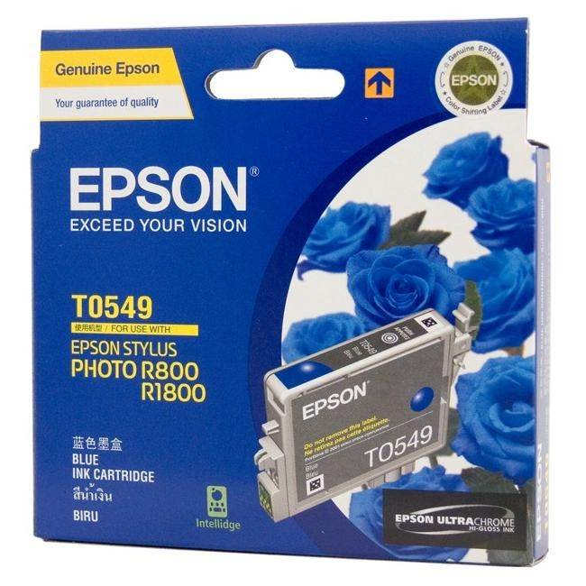 Epson T0549 Blue Ink Cartridge - 440 pages - Out Of Ink