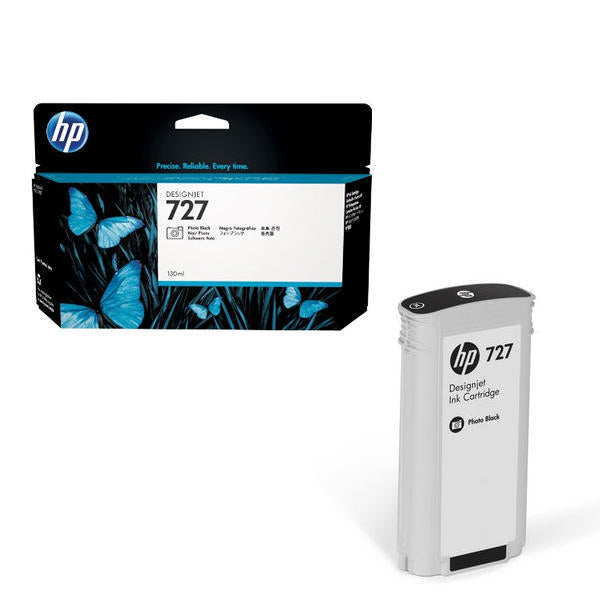HP #727 130ml Photo Blk B3P23A - Out Of Ink