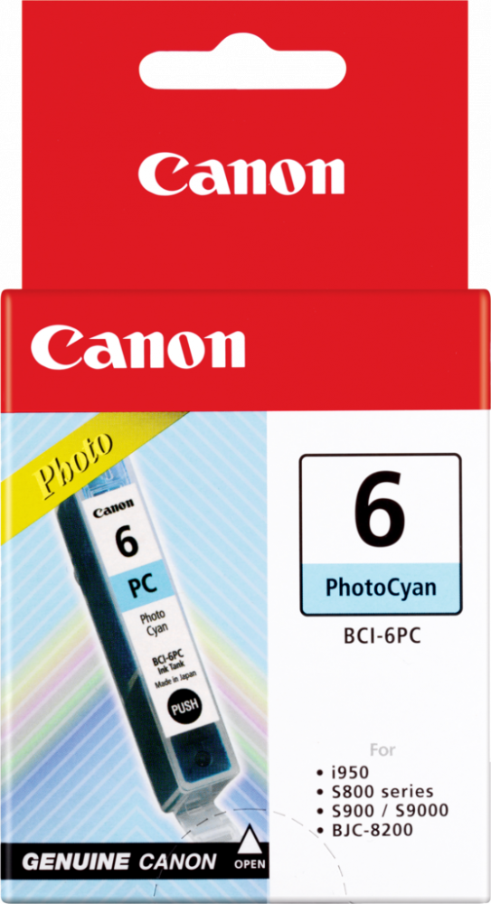 Canon BCI-6C Cyan Ink Tank - 100 pages - Out Of Ink