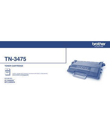 Brother TN3475 Black Toner - Out Of Ink