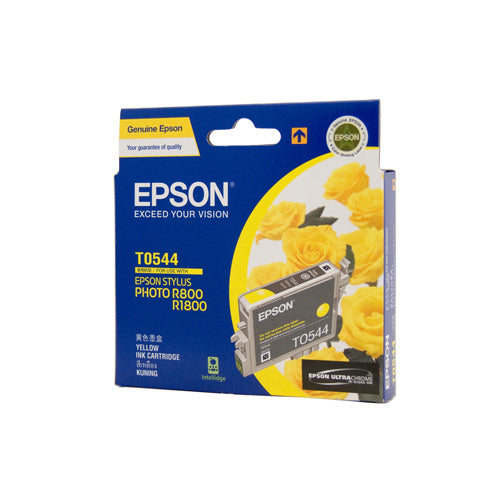 Epson T0544 Yellow Ink Cartridge - 440 pages - Out Of Ink